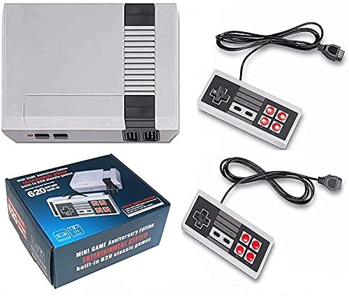 Malidily Consola de Juegos Retro, con 620 Juegos Retro clásicos para 2 Jugadores, Modo Consola de TV Salida de Memoria de la Infancia, Ideal para Niños y Adultos, Recuerdos de Niños Felices