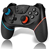 CHEREEKI Controller Wireless Switch Pro per Nintendo Switch, Bluetooth Switch Pro Controller Gamepad...