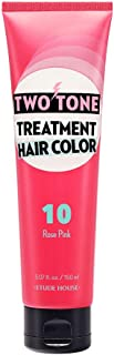 Etude House Two Tone Treatment Hair Color (#10 Rose Pink)