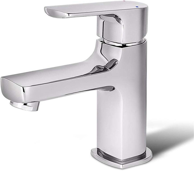 DIAOSI Bathroom basin mixer tap Faucet Hot And Cold Single Hole Copper Table Below Basin Faucet Bathroom Wash Basin Faucet