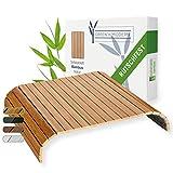 Green'n'Modern - Bandeja de madera de bambú para reposabrazos de sofás y muebles