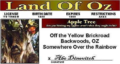Wizard of Oz - Apple Tree - Collector Card