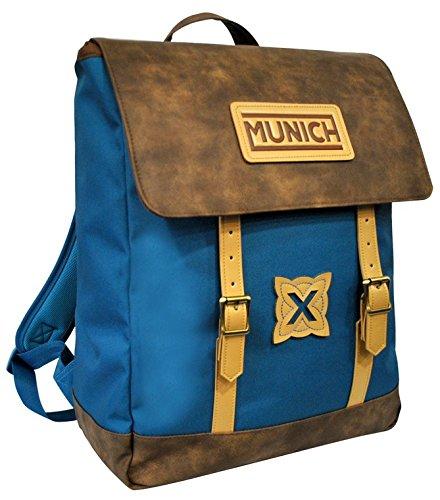 Munich Hipster 454614 Mochila Tipo Casual, 45 cm, 19 Litros, Azul