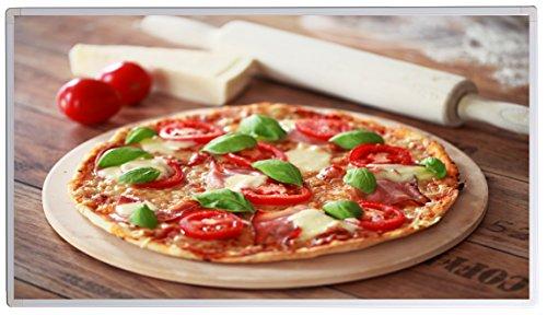 Bildheizung Infrarotheizung mit Digitalthermostat - 5 Jahre Herstellergarantie - - Heizt nach dem Prinzip der Sonne(Pizza,1000)