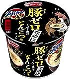 スーパーカップ1.5倍 ポークゼロ こってり濃厚とんこつ味ラーメン 117g ×12食