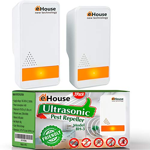 BH-3, 2 Pack - Ultrasonic Pest Repeller - Electronic Plug in Best...