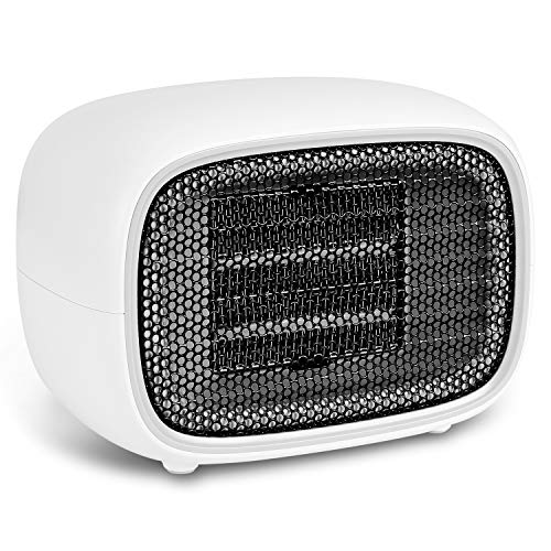 FOZOBOYO Small Space Heaters For Indoor Use, Electric Heater Portable Ceramic Heater, Space Heater Indoor Portable Electric for Office Bedroom Heater Portable Space