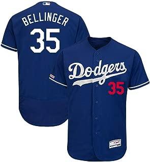 #35 Bellinger Los Angeles Collection Flex Base Player Baseball Jersey for Men