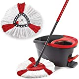 Cokil Durable Washable Soft Spin Mop Refill Home Mop Head Mops