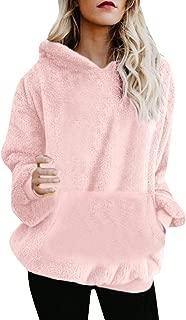 Mikey Store Women Hoodie Sweatshirt Long Sleeve Warm Winter Coat Jackets