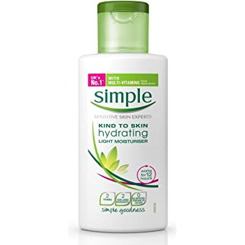 simple face lotion