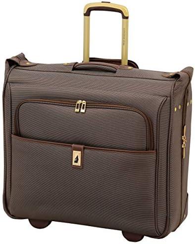LONDON FOG Kensington II Softside Wheeled Garment Bag, Bronze, 44-Inch