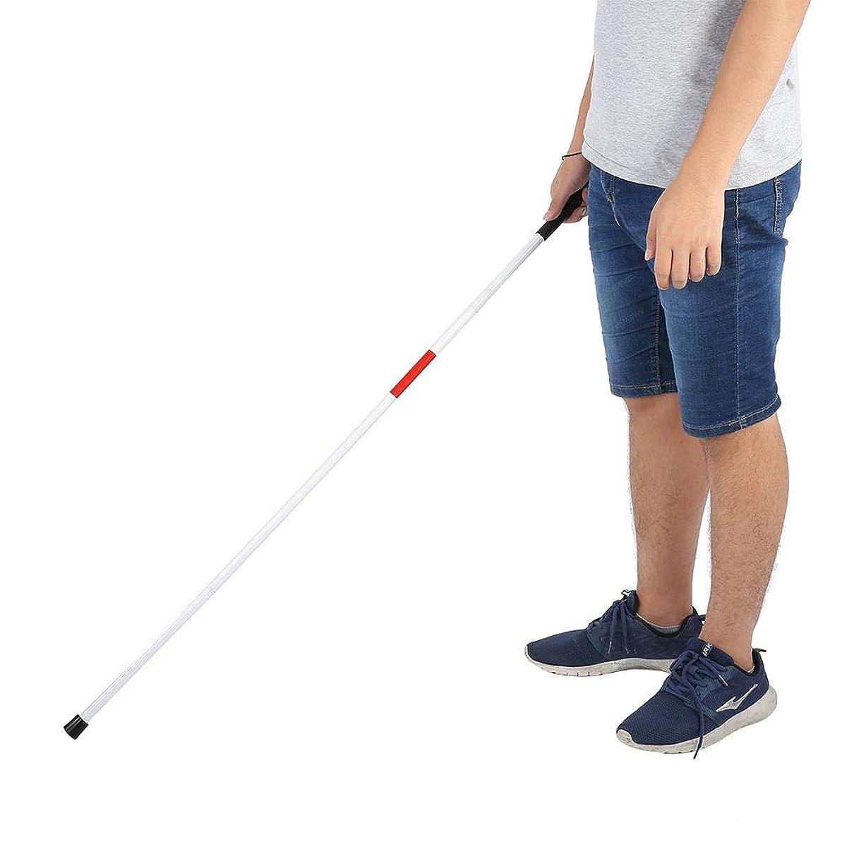 使役訪問希望に満ちた携帯用耐衝撃ガイド杖、ブラインド用