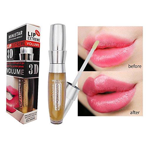 Lip Enhancer Vergrößerer Lipgloss Enthält Ingwer Saft ROPALIA Extrem Feuchtigkeit Sperren Sie das Öl das befeuchtet
