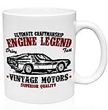 Alfa Romeo Montreal 1971 11oz Ceramic High Quality Coffee Mug