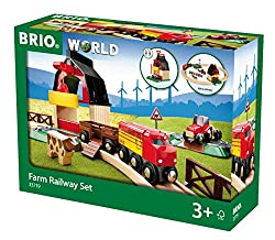 BRIO BRI-33719 Rail Farm Railway Set