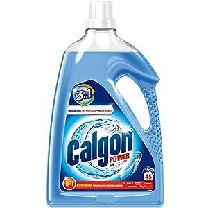 Calgon Power Gel – Antical para la Lavadora, Elimina Olores y Suciedad, en Formato Gel, 2.25 l, 45 dosis