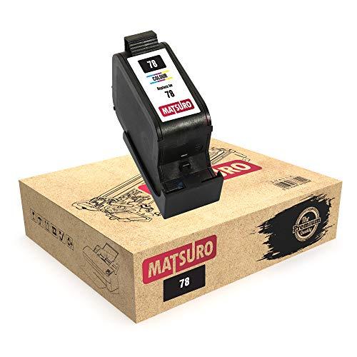 Matsuro Original | Kompatibel Remanufactured Tintenpatrone Ersatz für HP 78 (1 Farbe)