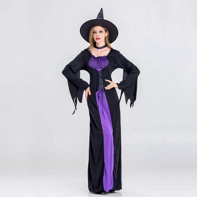 Yunfeng Hexenkostüm Damen Halloween Kostüm Hexenkostüm Erwachsene Rolle Spielen Halloween Hexe Cosplay Leistung Kostüm B07JVNXT93 Kindheit Spaß    | Fairer Preis