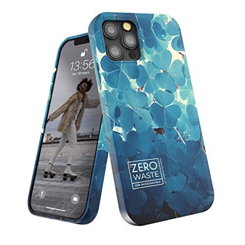 Wilma Biodegradable Compatible con iPhone 12 Pro MAX, 6.7 Inches, Cero Desperdicio, Funda Protectora para Teléfono, Ecológico, Detener la Contaminación de Plásticos, Sin Plástico, Trébol