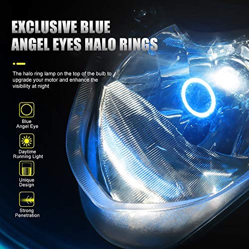 AOLEAD H4 LED Headlight Bulb Motorcycle