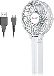 VersionTECH. Mini Handheld Fan, Personal Portable Desk Table Fan with USB Rechargeable..