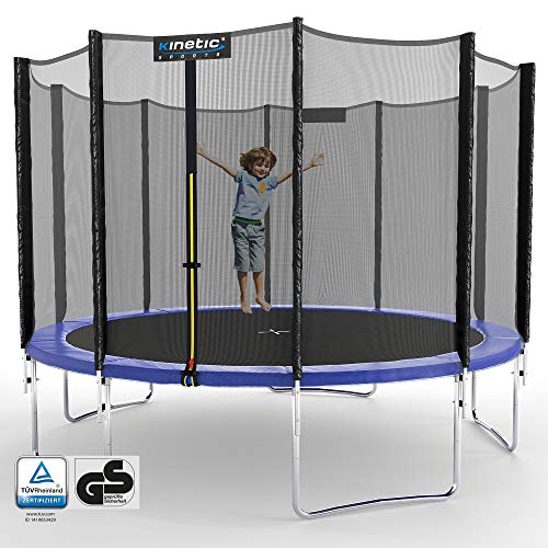 Kinetic Sports Gartentrampolin TPLH11 (Ø 335 cm, blau)