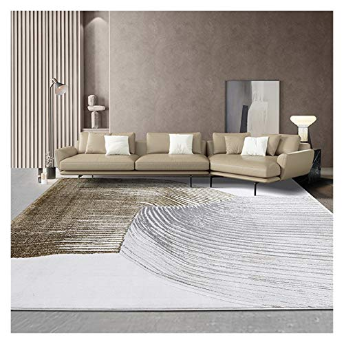 WGH Soft Shaggy Area Rugs for Bedroom Fluffy Living Room Rugs Anti-Skid Nursery Girls Carpets Kids Home Decor Rugs (Size : 5.2'x7.5')
