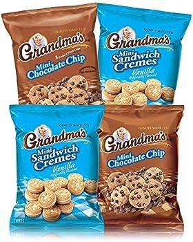 Grandma's Mini Cookies 2 Flavor Variety Pack of 30