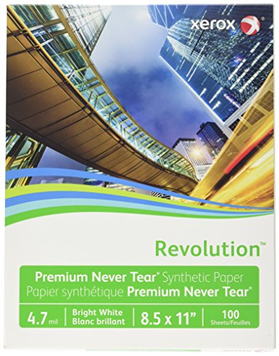 Xerox Revolution Synthetic Paper (XER3R20031), 4.7 mil, 8.5