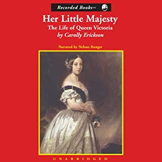Her Little Majesty audiobook cover art