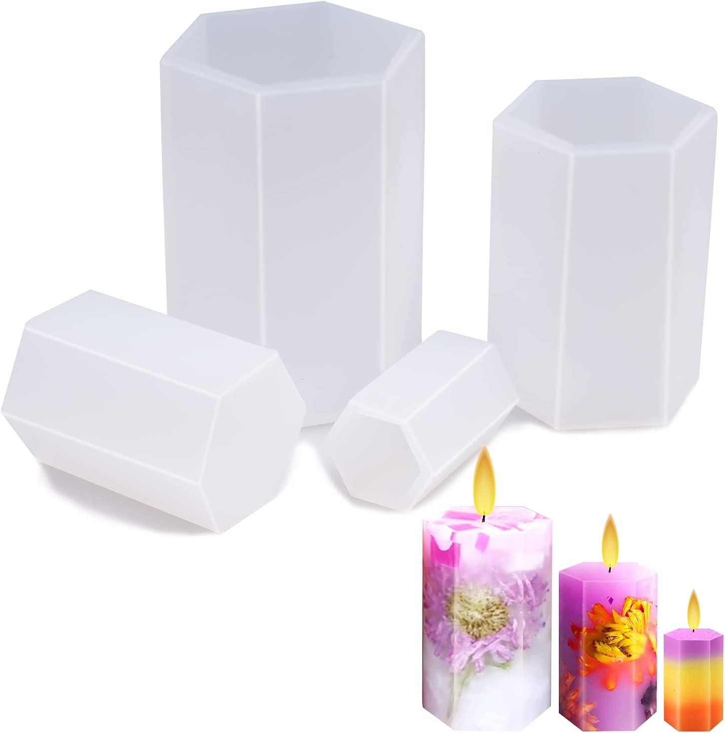 Doris 4 Pcs Silicone Clearance SALE! Limited time! Candle Special price Making Upgr Molds for -