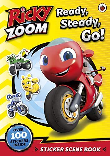 Ricky Zoom: Ready, Steady, Go!: Sticker Scene Book