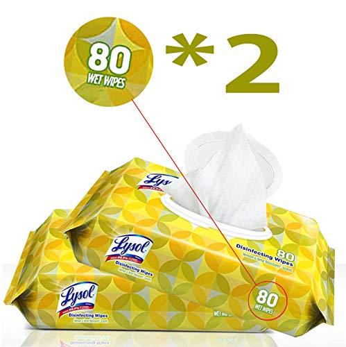 Lysol Lemon & Lime Blossom, 80ct (Pack of 2)