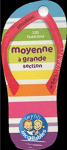 Incollables Moyenne section - Tong de la moyenne à la grande section