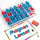 Coogam Magnetic Letters 208 Pcs with Magnetic...