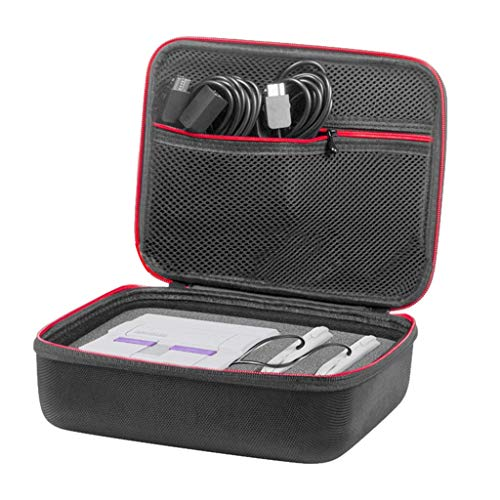UJUNAOR EVA Carry Storage Case Tasche für Nintendo SNES Mini Konsole SFC A Host-Aufbewahrungstasche