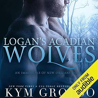 Logan's Acadian Wolves audiobook cover art