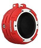 Enceinte Bluetooth LED étanche IPX8 ENERMAX O'MARINE EAS03-RW Rouge/Blanc - Waterproof, résiste 3 mètres sous l'eau pendant 2 heures - 10 heures d'autonomie