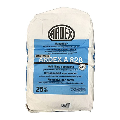 Ardex 828 Wandfüller 25kg Wandspachtel Wandfüller Gipsspachtel Spachtel Ardumur