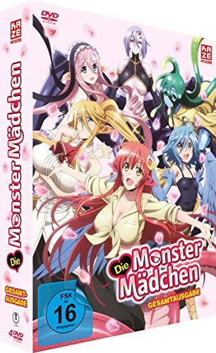 Die Monster Mädchen - Gesamtausgabe - [DVD]