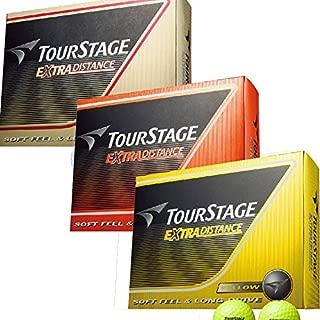 ブリヂストン TOURSTAGE ボール エクストラディスタンス ボール 3ダースセット 3ダース(36個入り)