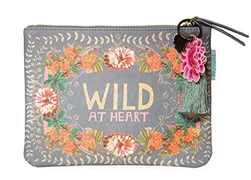 Papaya Clutch, Clutch Geldbörse, bedruckte Handtasche, hübsches Handy und Geldbörse Organizer,...