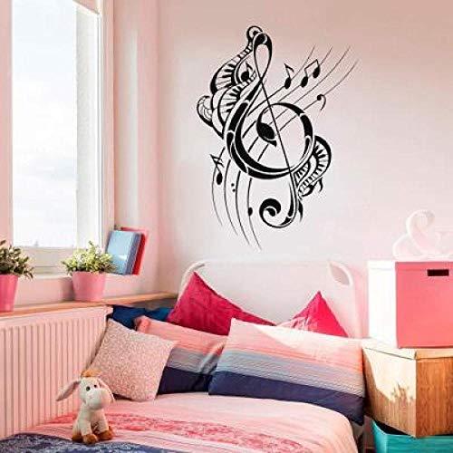 JXLLCD Kreative Musik Symbol Suona Wandaufkleber Home Decoration 57 * 76cm