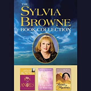 Sylvia Browne's Book of Angels audiobook cover art