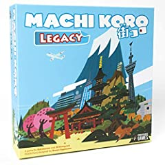 The first family friendly Legacy style game. Set in the best-selling world of machi koro! New buildings, new mechanics, new gampelay! Fans of the best-selling machi koro are going to find a lot of unique elements they have never seen before. Pirate S...