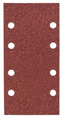 Bosch Schleifblatt (für Schwingschleifer verschiedene Materialien, 10 Stück, 93 x 185 mm, Körnung 60)