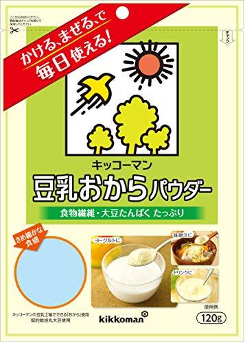 キッコーマン飲料 豆乳おからパウダー 120g×10袋