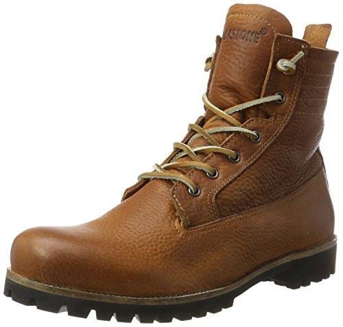 Blackstone IL62 CUOIO SHEEPSKIN, Damen Biker Boots, Braun (Cuoio), 38 EU (4.5 Damen UK)