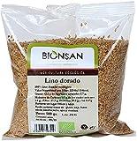 Bionsan Lino Dorado Ecológico | Producto Ecológico y Natural | 500 gr